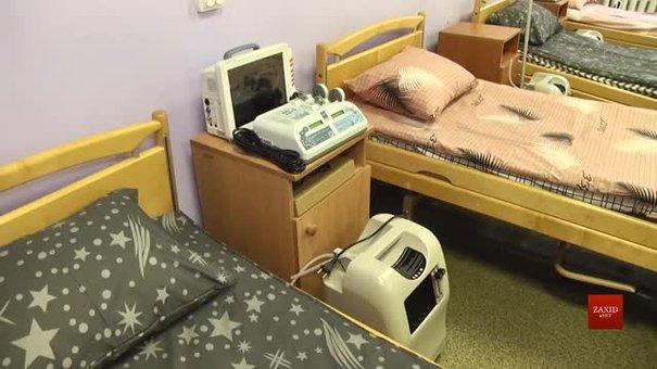 У львівській лікарні відкрили нове відділення для хворих на коронавірус