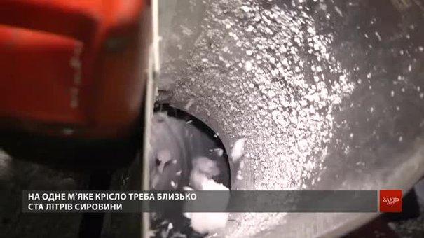 Львівські екоактивісти виготовлятимуть м'які меблі з пінопласту