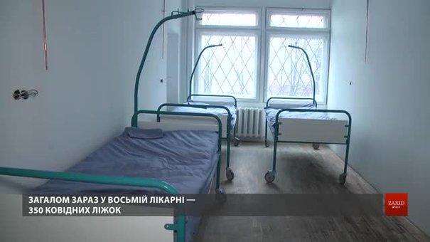 У 8-й лікарні Львова відкрили додаткове ковідне відділення