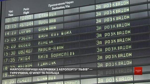Зі Львова збільшують кількість авіарейсів на літо: куди можна летіти по безвізу