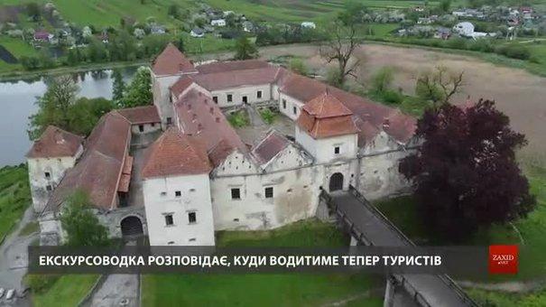 Закритий останні 30 років Свірзький замок відкрили для екскурсій