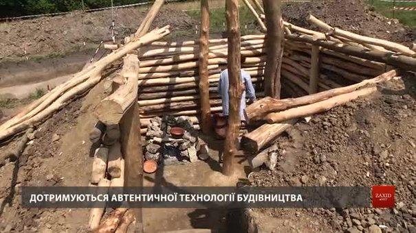 У заповіднику «Давній Пліснеськ» будують слов'янську хижу Х ст.
