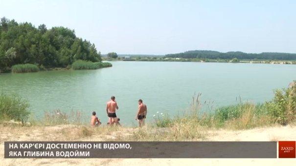 Рятувальники перевіряють небезпечні водойми та пляжі на Львівщині