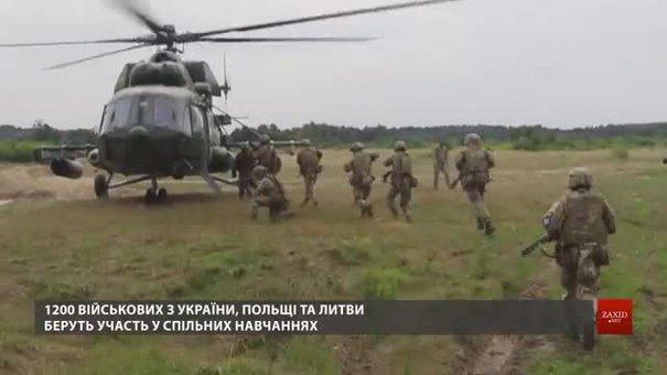 Військові з України, Польщі та Литви навчаються ліквідовувати терористів у містах