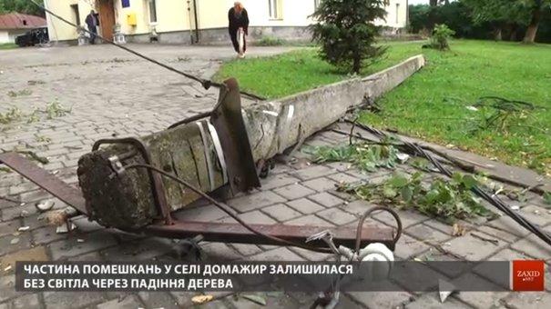 У «Львівобленерго» назвали найпоширенішу причину знеструмлення під час негоди
