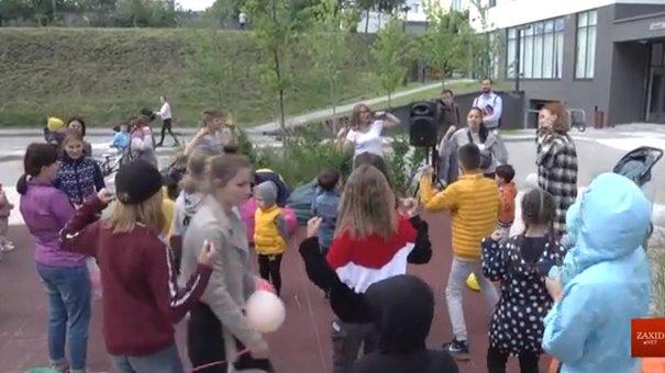 Львівський центр «Рідні» влаштував свято для своїх вихованців та сусідів