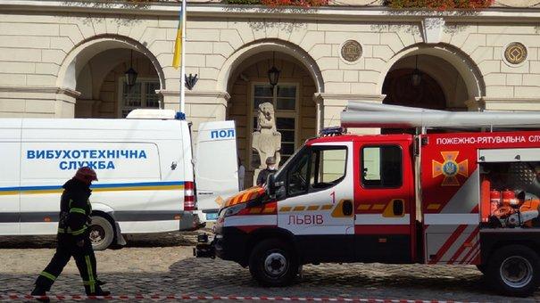 СБУ провела антитерористичні навчання у Львівській міськраді