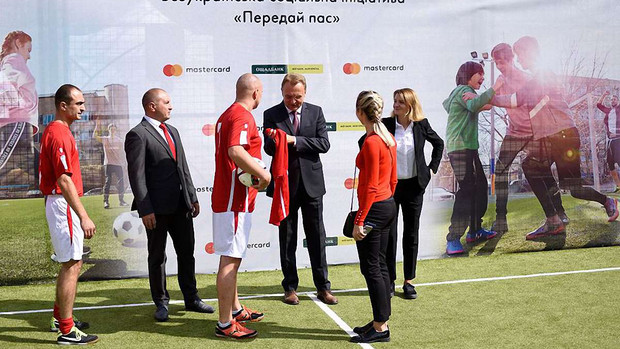 У Львові відкрили оновлений футбольний майданчик