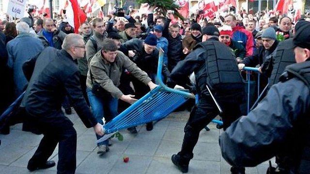 День незалежності у Польщі: демонстрації і сутички з поліцією