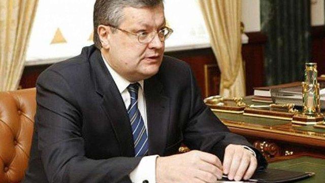 Грищенко анонсує зону вільної торгівлі з Ізраїлем