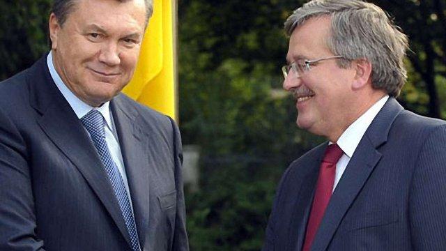 Президент Польщі зібрався в Україну