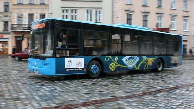 Транспортна схема у Львові