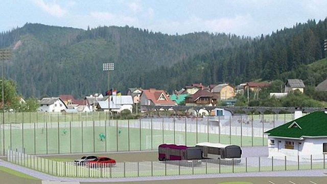 У Славську тренувальна база до Євро-2012 готова на 70%