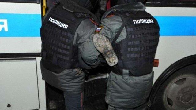 У Москві поліція затримала 14 учасників живого ланцюга