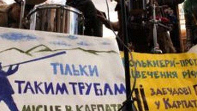 Львів'ян інформують про небезпеку мініГЕС в Карпатах