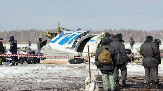 Названо найімовірнішу причину авіакатастрофи під Тюменню