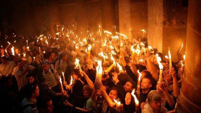 У Єрусалимі розпочався хресний хід до Гробу Господнього