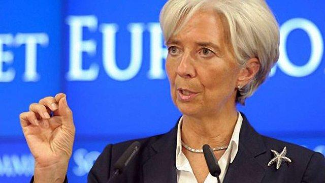 Керівник МВФ: Єврозона сьогодні в епіцентрі ризику