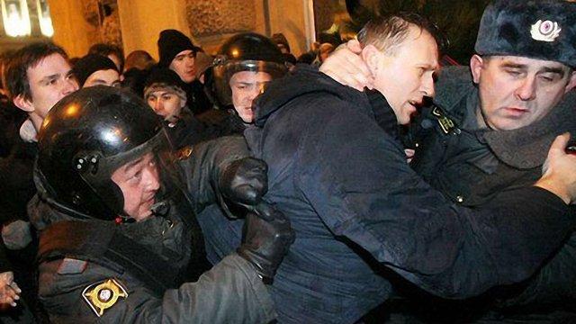 Дві третини затриманих на мітингах у Москві визнано винними