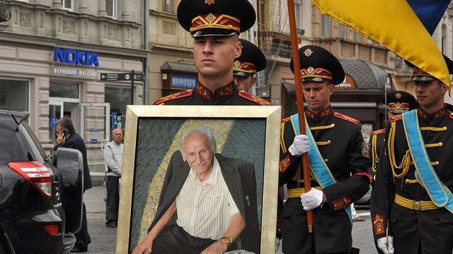 Бориса Возницького поховали на Личаківському кладовищі