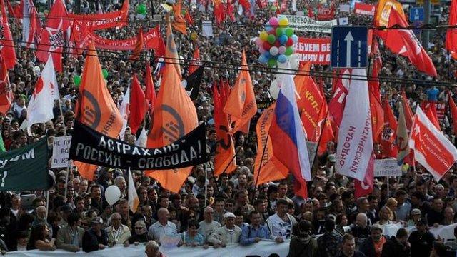 Опозиція у Москві готує акцію протесту на 50 тисяч осіб