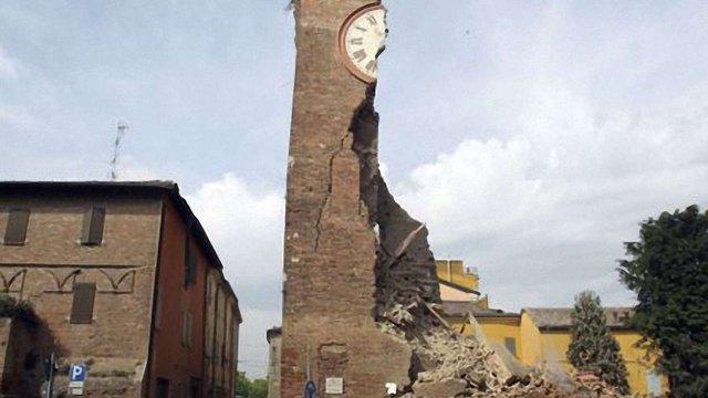 В Італії стався землетрус:є жертви