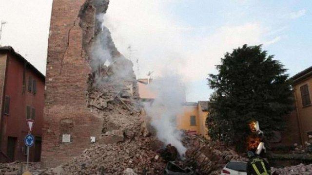 На півночі Італії – знову землетрус