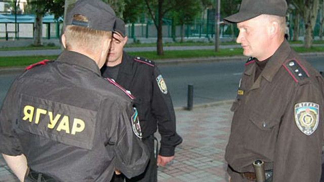 Фан-зону Євро-2012 у Львові охороняє спецпідрозділ «Ягуар»