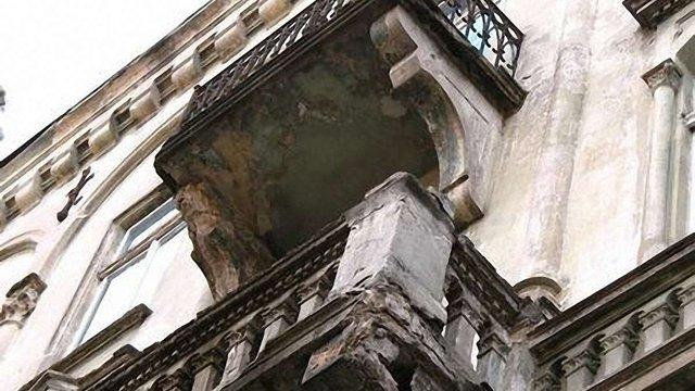 GIZ планує відреставрувати у Львові 40 балконів