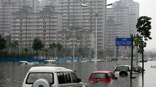 Повінь у Китаї забрала 16 життів
