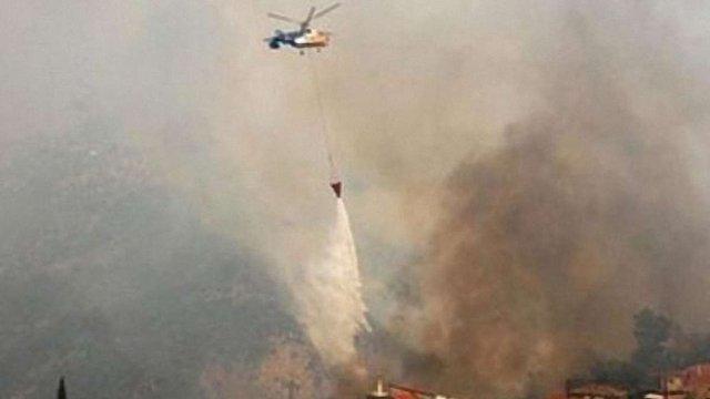 В Італії вирують пожежі, населення й туристів евакуюють