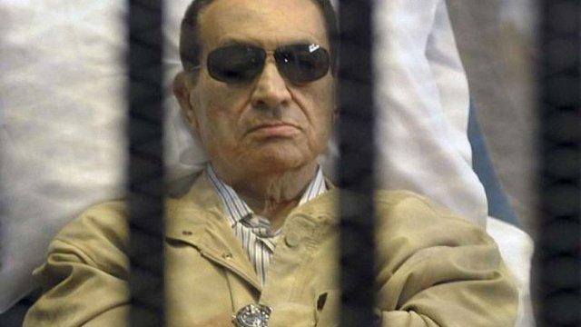 Швейцарія заморозила 700 млн франків екс-президента Єгипту Мубарака