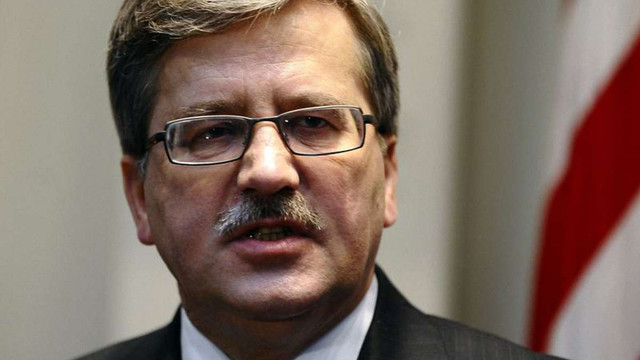 Коморовський хоче законодавчо закріпити створення польської ПРО
