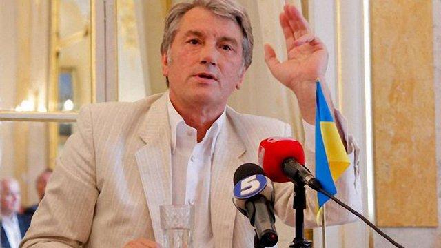 Пинзеник пішов від Тимошенко, щоб не сісти в тюрму, - Ющенко