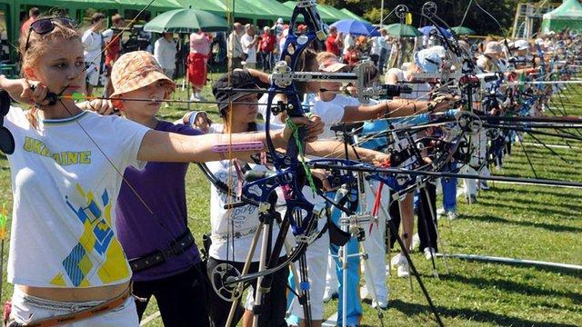 У Львові стартував турнір зі стрільби з лука «Золота осінь-2012»