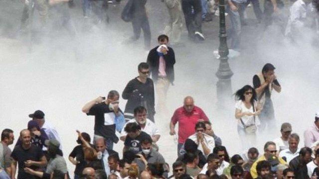 В Афінах на акцію проти заходів економії вийшли 70 тис. осіб