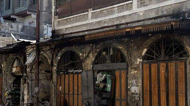 У Сирії згоріла пам'ятка ЮНЕСКО