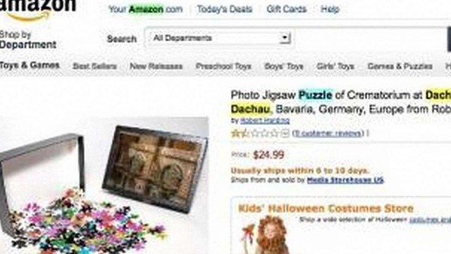 Amazon критикують за продаж пазлів із крематорієм Дахау
