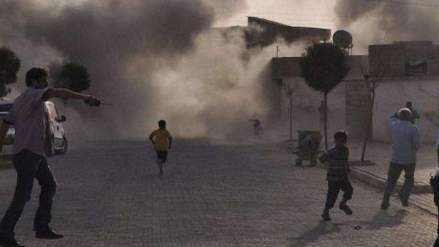 Туреччина відповіла атакою на обстріл своєї території з Сирії