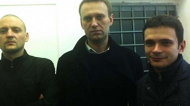 У Москві під час пікету затримали трьох опозиціонерів