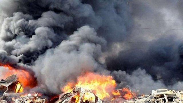 Дамаск сьогодні бомбардували військові літаки