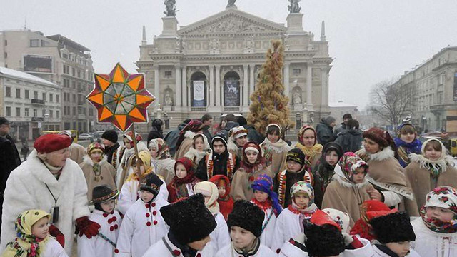 Різдвяний дідух у Львові встановлять біля костелу Єзуїтів