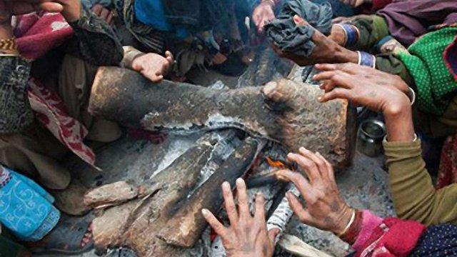 130 людей померло в Індії від холоду