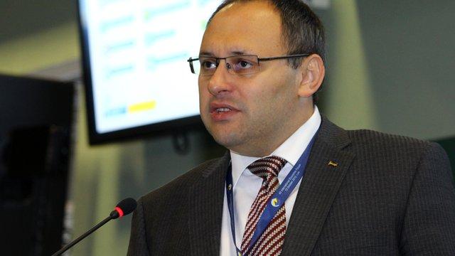 Каськів отримав догану за LNG-термінал