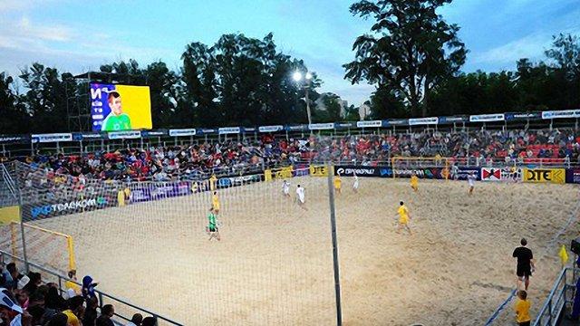 У Львові хочуть збудувати майданчик пляжних видів спорту