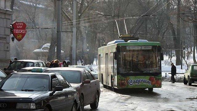 Тролейбус №7 у Львові курсує лише до Льотного поля