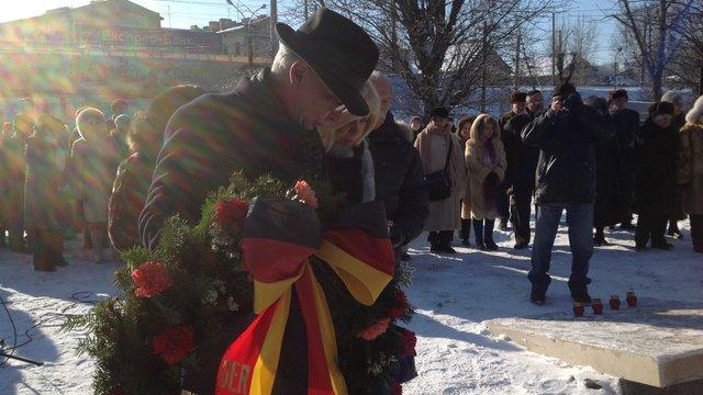 Жертв Голокосту у Львові вшанували хвилиною мовчання