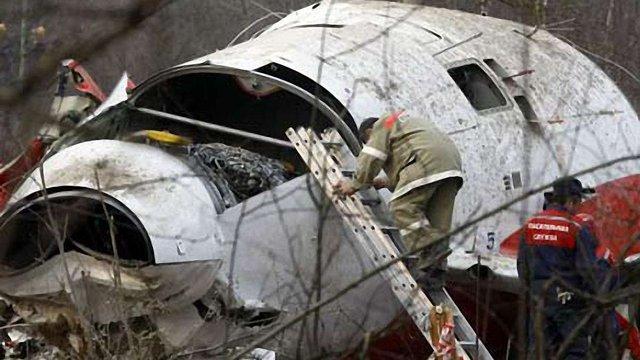 Росія відмовилася передати Польщі уламки літака Качинського