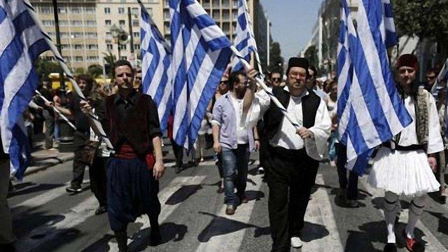 Греки вийшли на загальний страйк проти заходів економії