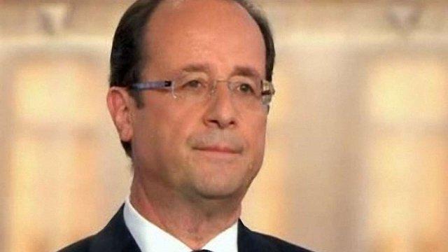 Понад 75% французів негативно оцінили рік президентства Олланда